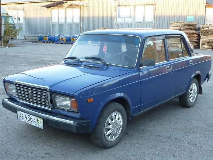 ВАЗ-2107, как и «Шестерка», часто угоняется.