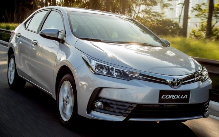 Corolla остается одной из самых продаваемых машин на рынке.