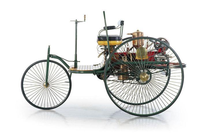 Benz Patent-Motorwagen был первым автомобилем.   Фото: ru.wikipedia.org