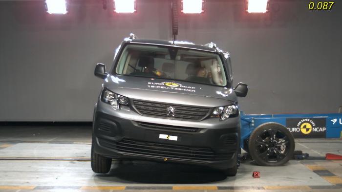 Citroen Berlingo/Peugeot Rifter/Vauxhall Combo показывают достойный уровень защиты только для взрослых пассажиров. | Фото: media.autoblog.md
