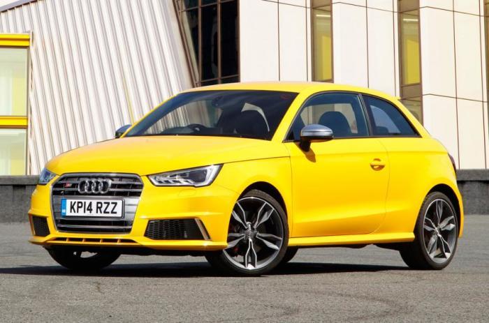 Audi S1 – это настоящая городская пушка.   Фото: autocar.co.uk