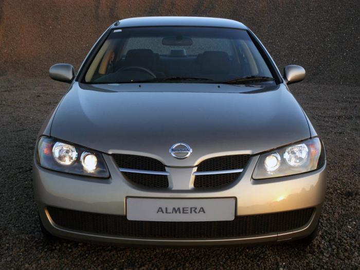 Nissan Almera первого поколения имел просто ужасную коррозионную стойкость.