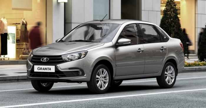 По цене от 581 500 рублей можно приобрести Lada Granta с 4-х диапазонным автоматом Aisin, либо за 521 500 рублей с 5-ти ступенчатой роботизированной коробкой передач с одним сцеплением.