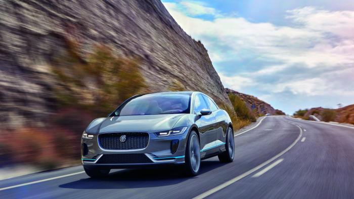 Судя по всему, электрический Jaguar вышел действительно интересным автомобилем.