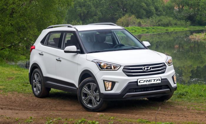 Hyundai Creta совсем неожиданно оказалась в сегодняшней подборке.