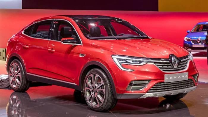 И все-таки главным событием ММАС 2018 стала мировая премьера нового кроссовера от Renault - Arkana.