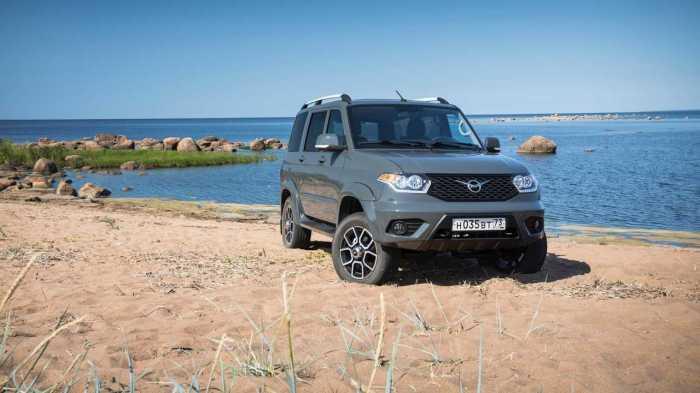 Первый УАЗ с автоматом. | Фото: cdn.motor1.com