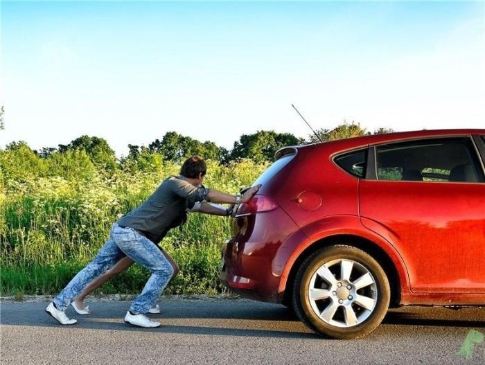 Машину с АКПП не завести «с толкача». |Фото: autozavr.net