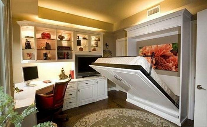 Такая кровать станет украшением любой спальни.