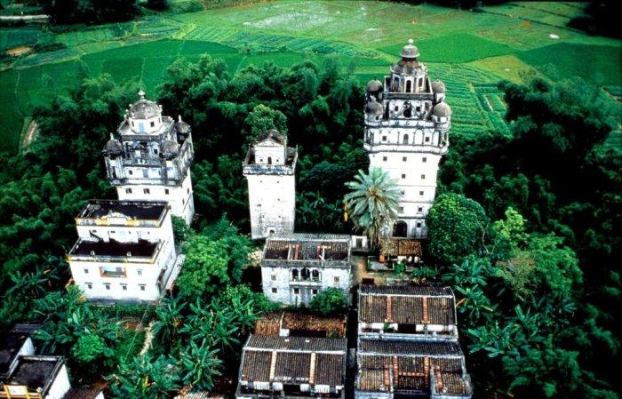 Так выглядят поселения с высоты птичьего полета. | Фото: tourpedia.ru.