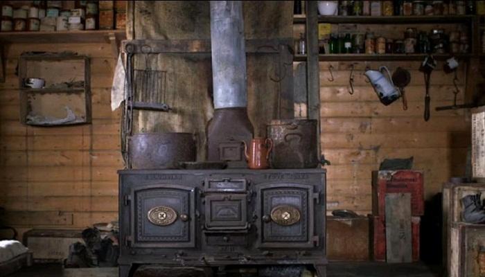 Печь, которая всегда могла спасти от холода.