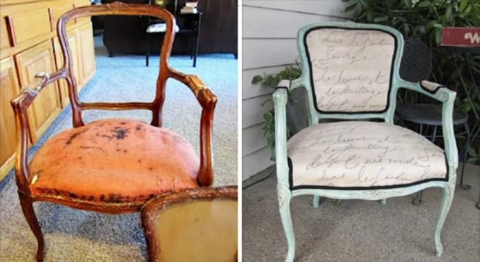 Даже в самом плачевном состоянии раритетным стульям можно вернуть вторую жизнь.