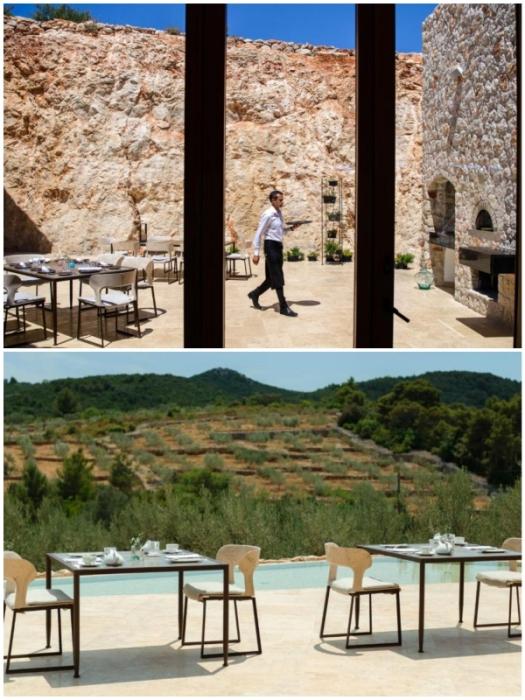 Гостей отеля ждут удивительные кулинарные шедевры, которые готовят из натуральных продуктов и на открытом огне (Villa Nai 3.3, Хорватия).