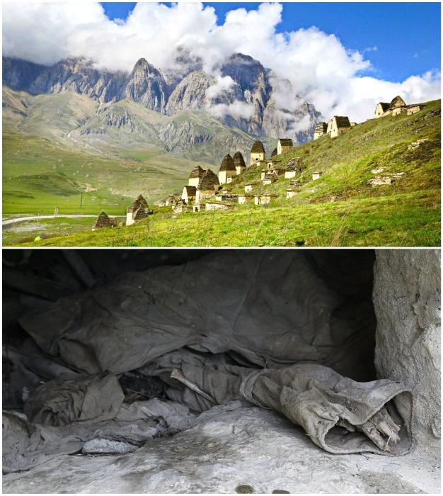 Загадочный город охраняет сон 10 тыс. умерших предков осетин.