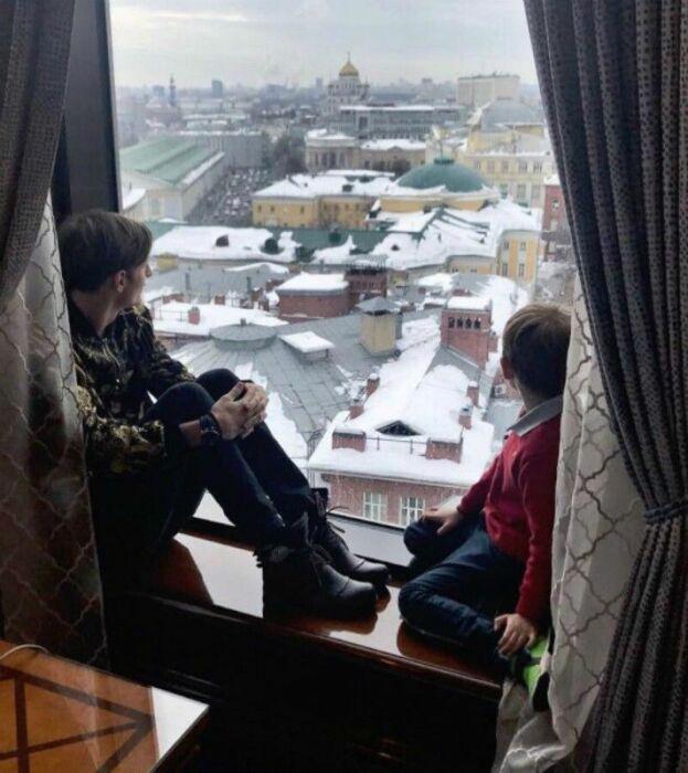Своих детей Павел и Ляйсан стараются не показывать публике, хотя душевные фото можно увидеть. | Фото: vokrug.tv.