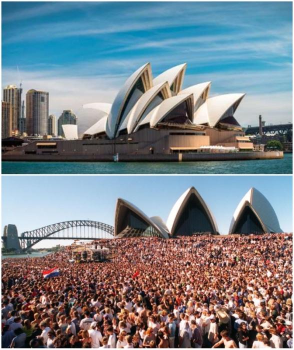 С 1973 г. Оперный театр Сиднея стал местом проведения всех значимых мероприятий города и страны.