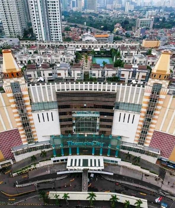 Деревня Cosmo Park построена на крыше торгового центра Thamrin City Mall (Джакарта, Индонезия). | Фото: kmgram.com.