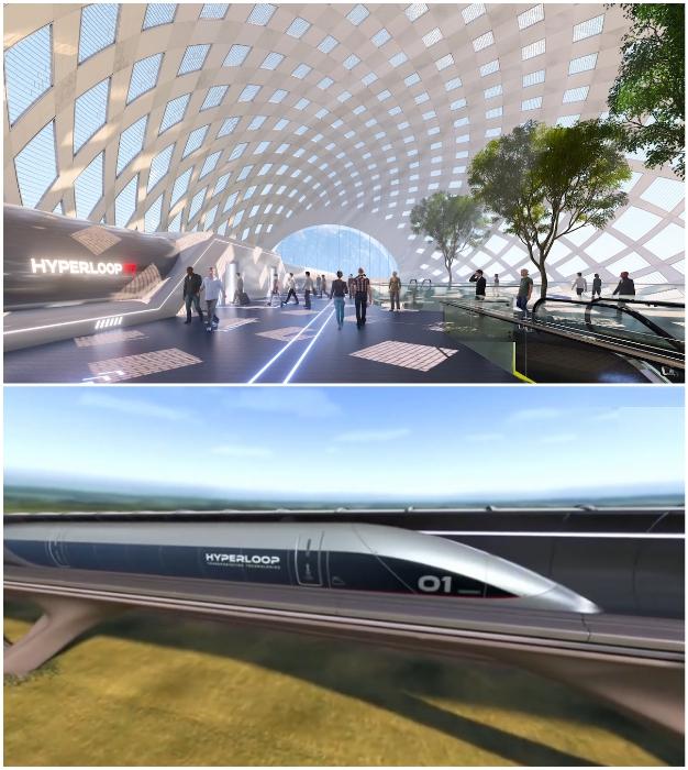 В скором времени появится автономная транспортная система, капсулы которой будут мчаться 463 км/ч.