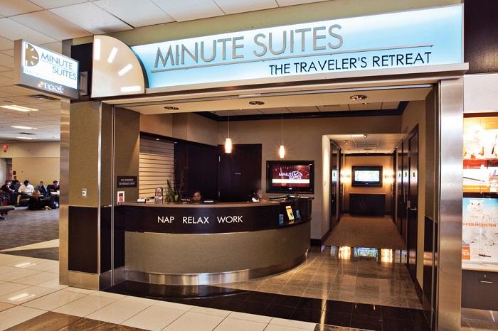 Сеть капсульных отелей Minute Suites.