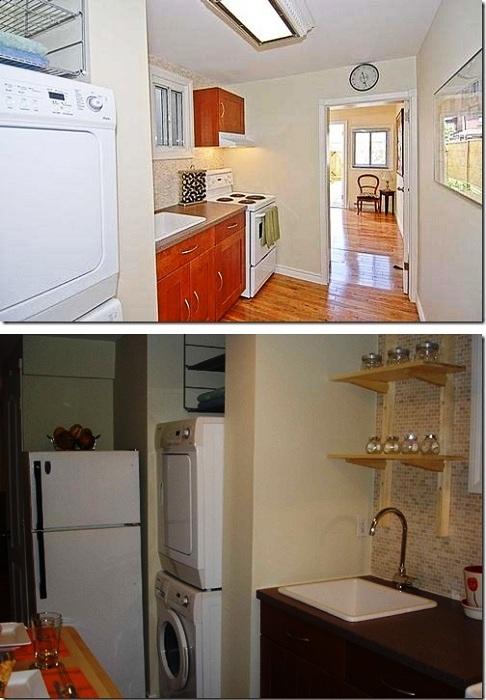 Кухня оборудована всем необходимым.