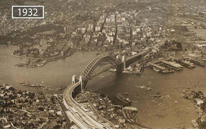 Сидней в прошлом веке.