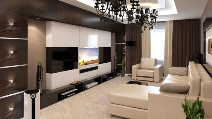 Встроенная мебель экономит площадь квартиры.