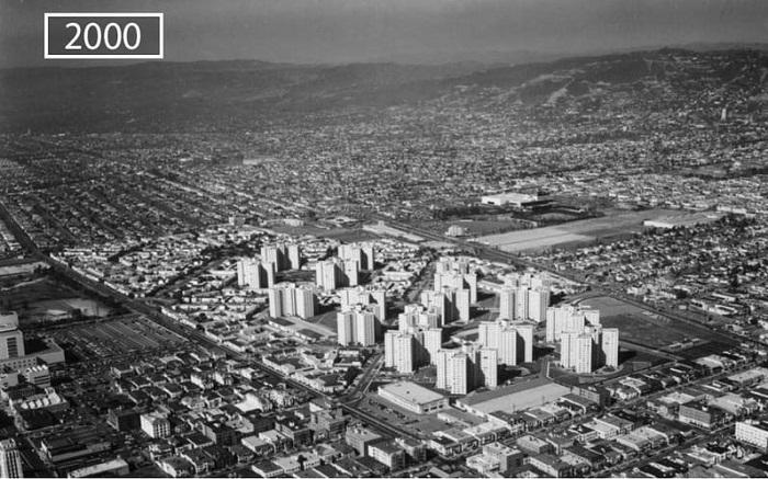 Лос-Анджелес всего 18 лет назад.
