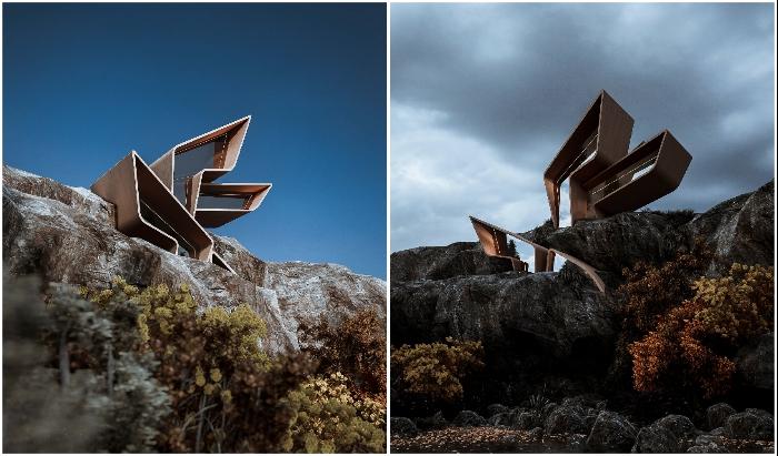 Удивительный дизайн элегантного загородного дома Liviana House, спроектированный студией Veliz Arquitect.