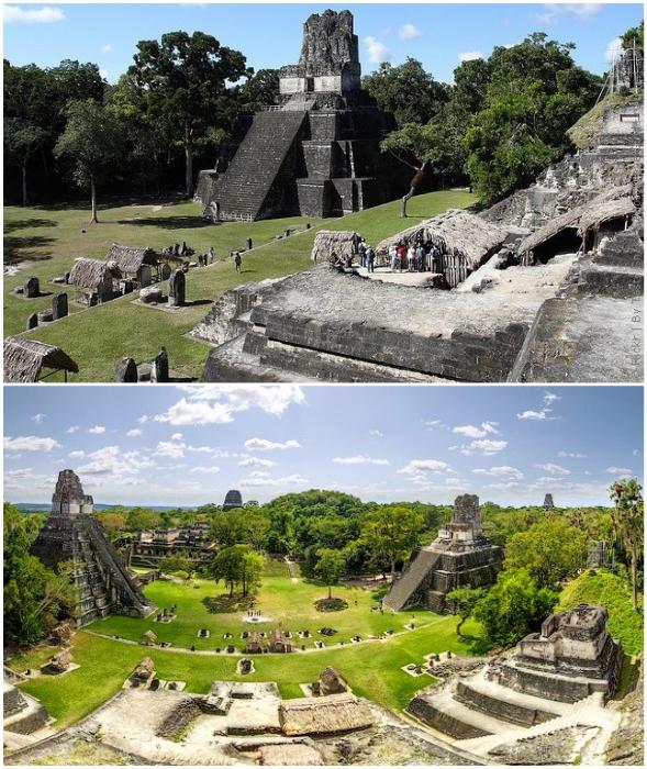 Тикаль –  один из важнейших центров цивилизации майя (провинция Эль-Петен, Гватемала).