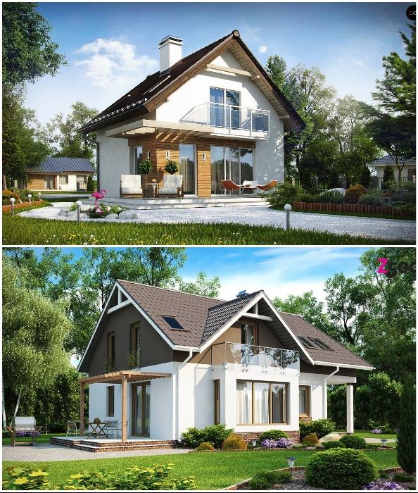 Перед началом строительства дома с мансардой, стоит взвесить все «за» и «против».