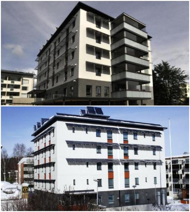 Первый дом, созданный совместной компанией Kuopio Student housing Ltd (Luukku, Финляндия).