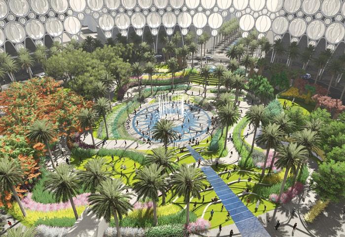Озеленению District 2020 будет уделяться особое внимание.