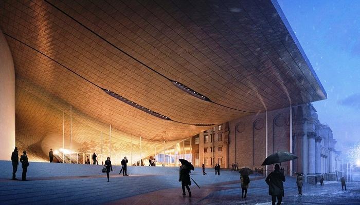 Новый концертный зал станет главным украшение Екатеринбурга.