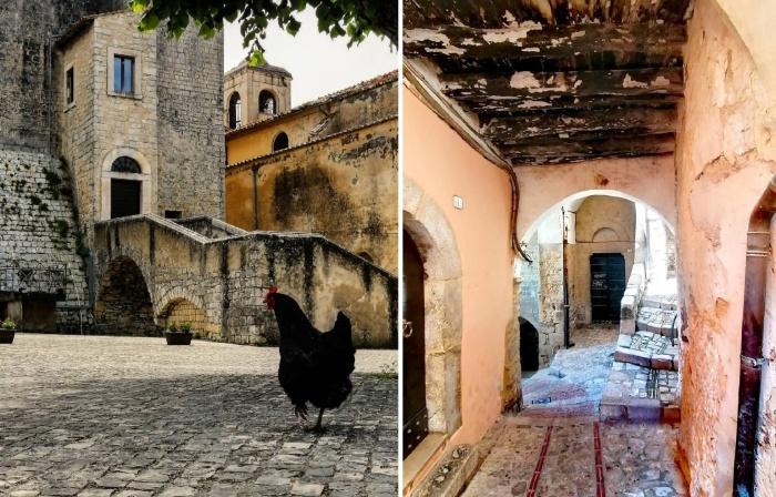 Чтобы остановить разрушение исторической части города, власти решили продать около сотни старых домов за 1 евро (Maenza, Италия).
