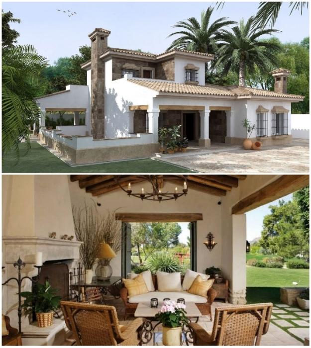 Испанский колониальный стиль прижился в Южной Америке, в штатах Калифорния, Флорида, Аризона, Техас и Колорадо.