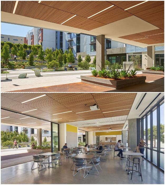 Жилой комплекс для малообеспеченных и ветеранов порадовал жителей всего квартала (Edwin M. Lee Apartments в Сан-Франциско, Сан-Франциско).
