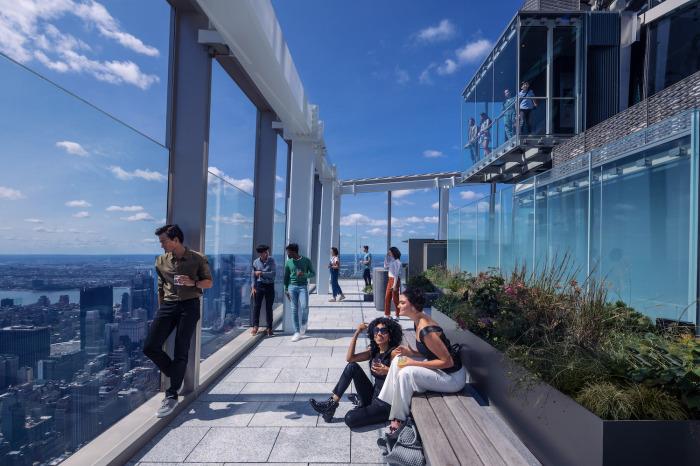 Самая впечатляющая смотровая площадка Америки (визуализация Summit One Vanderbilt). | Фото: newatlas.com.