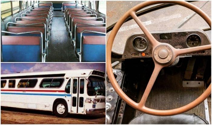 Списанный туристический автобус 1966 г. выпуска вдохновил энтузиастку на создание дома на колесах.