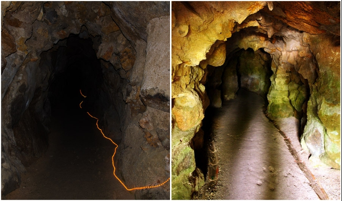 Другой путь к «центру» Вселенной лежит через подземные туннели и озеро (Quinta da Regaleira, Синтра).