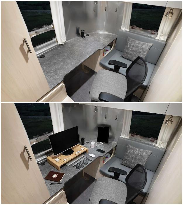 Собственный кабинет в двухосном трейлере – это прекрасный вариант для фрилансеров и тех, кто на удаленке.