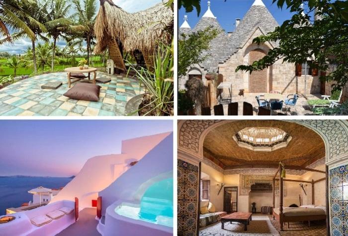 Одни из самых желанных мест отдыха по версии Airbnb.