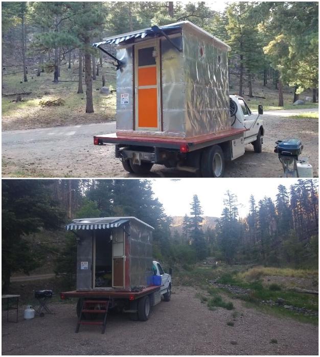 Супруги уже во всю путешествуют и мечтают построить фургон более вместительный.