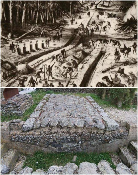 Почему дороги древнего Рима так хорошо сохранились?