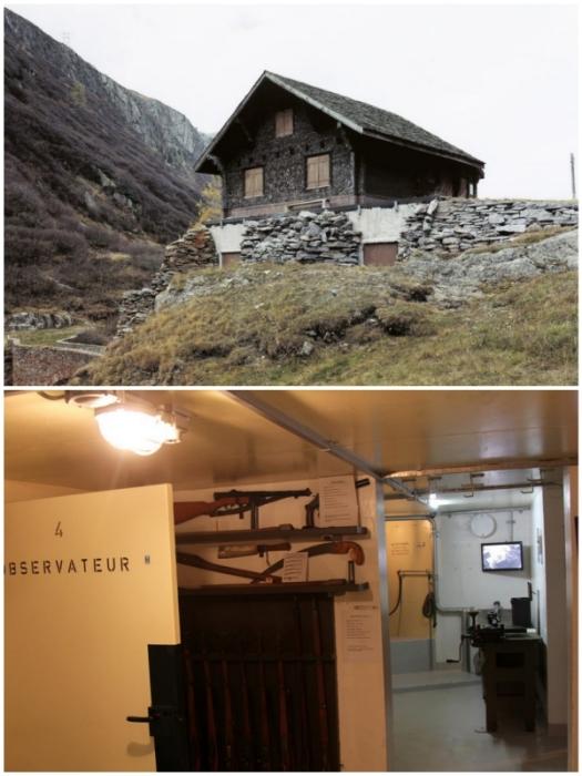 Внутрь фальшивых шале любопытные туристы и местные жители смогли попасть только в начале XXI века (Швейцария).