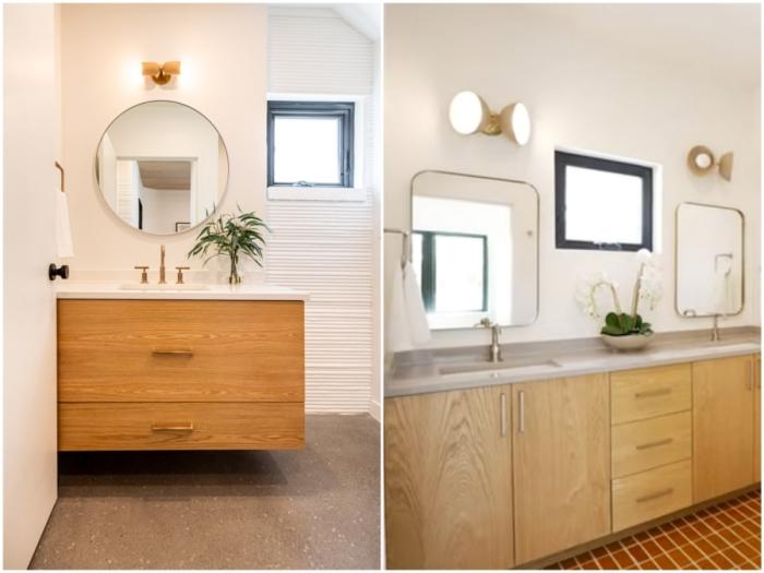 Возле каждой спальни имеются собственные ванные комнаты (Остин, Техас).