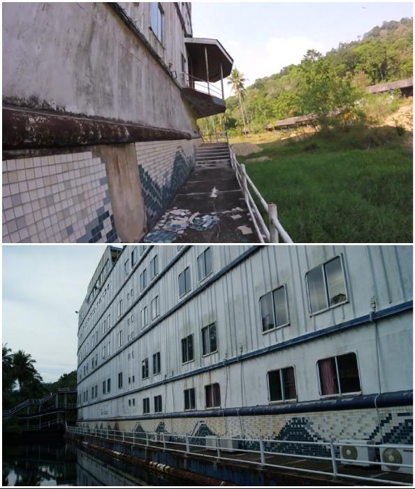 Сомнительная роскошь и безопасность нижней палубы океанского лайнера (Grand Lagoona Koh Chang Resort, Таиланд).