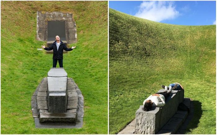 The Irish Sky Garden открыт для посещений с апреля по ноябрь.