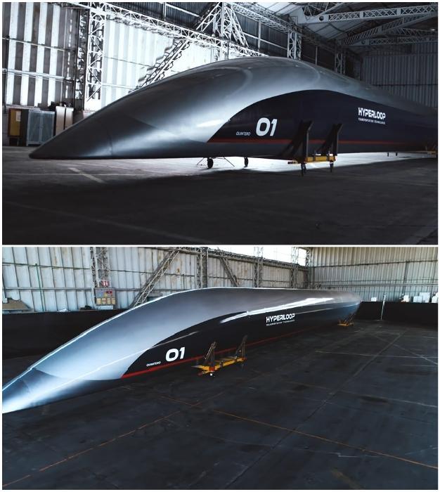 Вагоны-капсулы Hyperloop уже реально существуют.