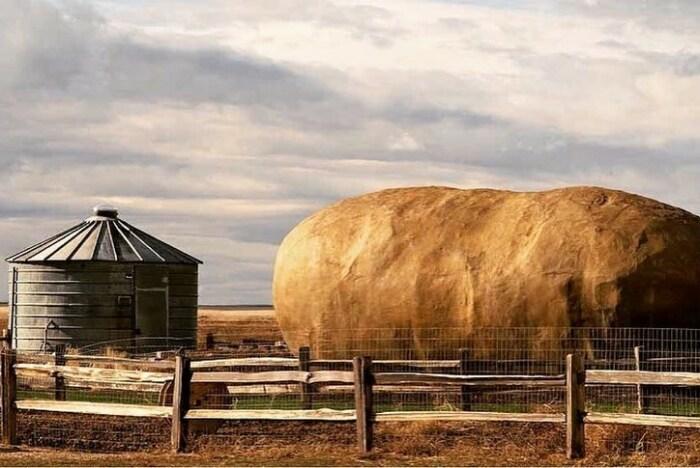 Рядом с номером-картофелиной находится собственный спа-салон (Big Idaho Potato Hotel).   Фото: sweepstakesfanatics.com.