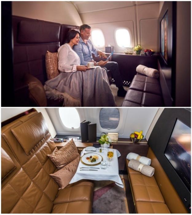 В The Residence Etihad могут путешествовать сразу два человека (Airbus А-380 Etihad).